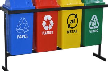 Lixeiras de plástico: conheça 7 vantagens em utilizá-las
