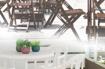 Cadeiras de plástico e madeira: descubra como utilizar esses elementos em sua decoração